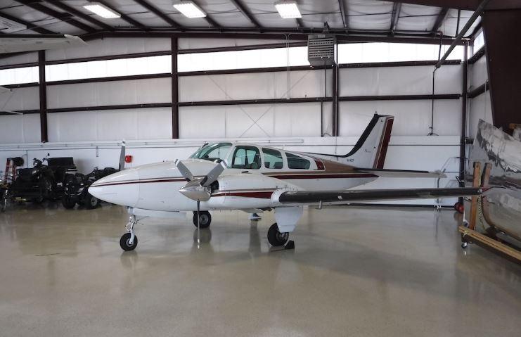 Aircraft Listing - Baron 55 listed for sale