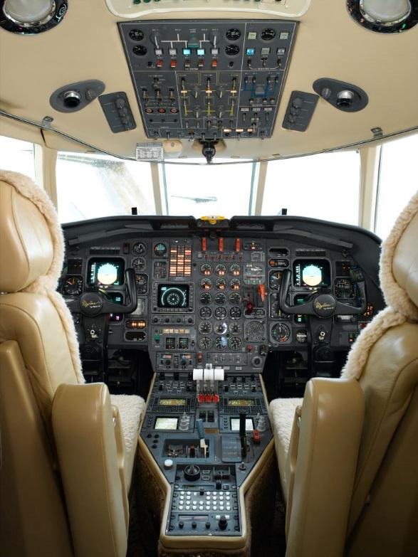 Falcon 50 panel