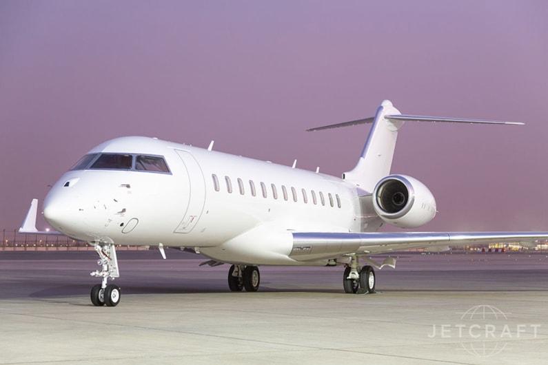 Private jet for sale charter: 2018 Bombardier Global 6000 ultra-long-range heavy jet