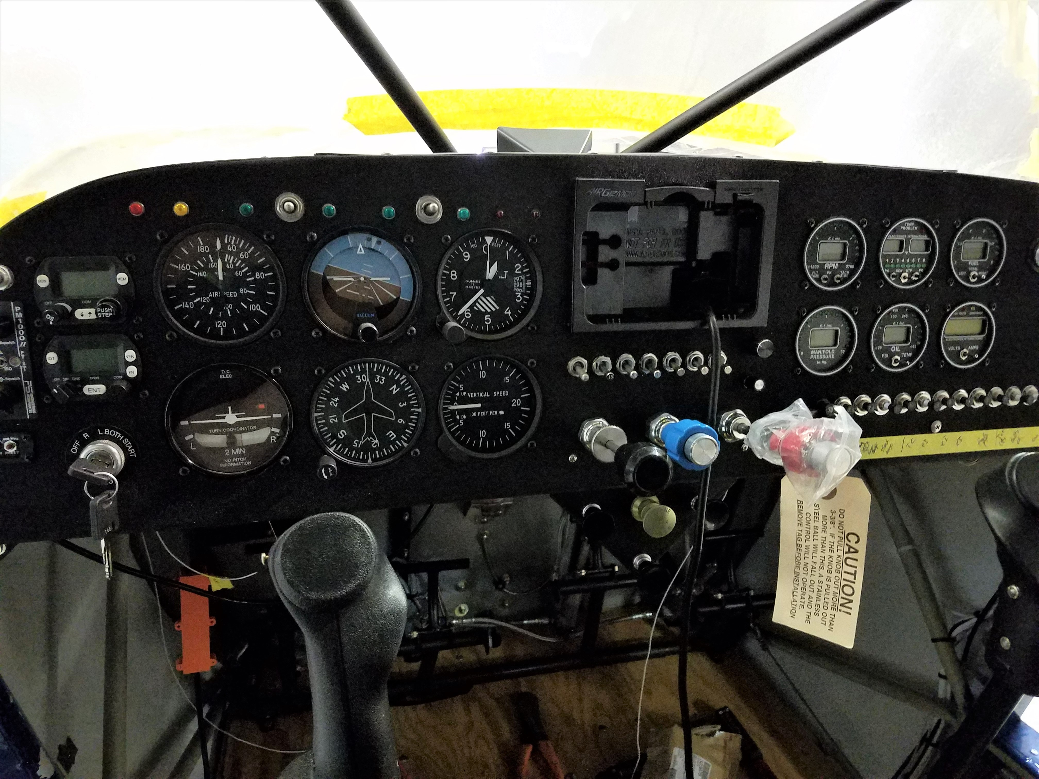 Bearhawk 4-Place panel