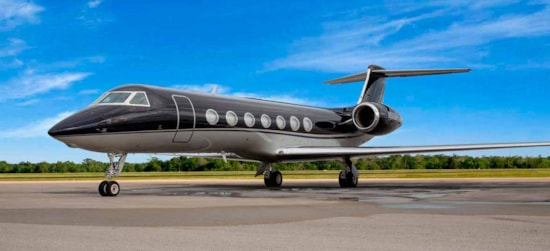 Private jet for sale charter: 2009 Gulfstream G550 long range heavy jet