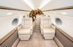 Private jet for sale charter: 2009 Gulfstream G550 long-range heavy jet