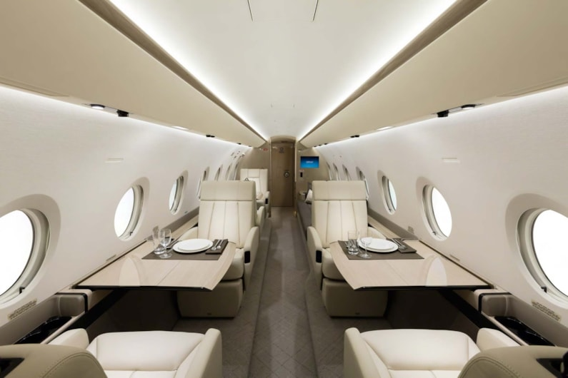 Private jet for sale charter: 2017 Gulfstream G280 super-midsize jet