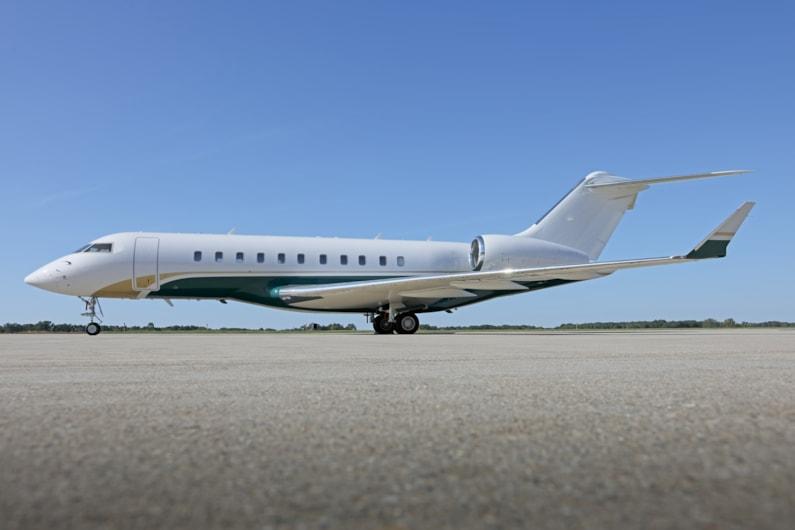 Private jet for sale charter: 2009 Bombardier Global 5000 long-range heavy jet