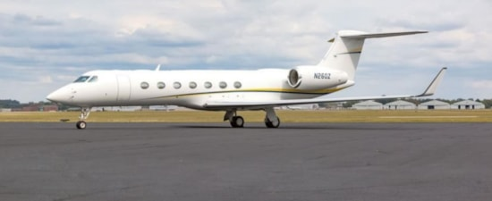 Private jet for sale charter: 2015 Gulfstream G550 long-range heavy