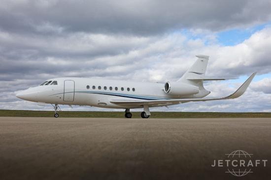 Private jet for sale charter: 2005 Dassault Falcon 2000EX EASy heavy jet