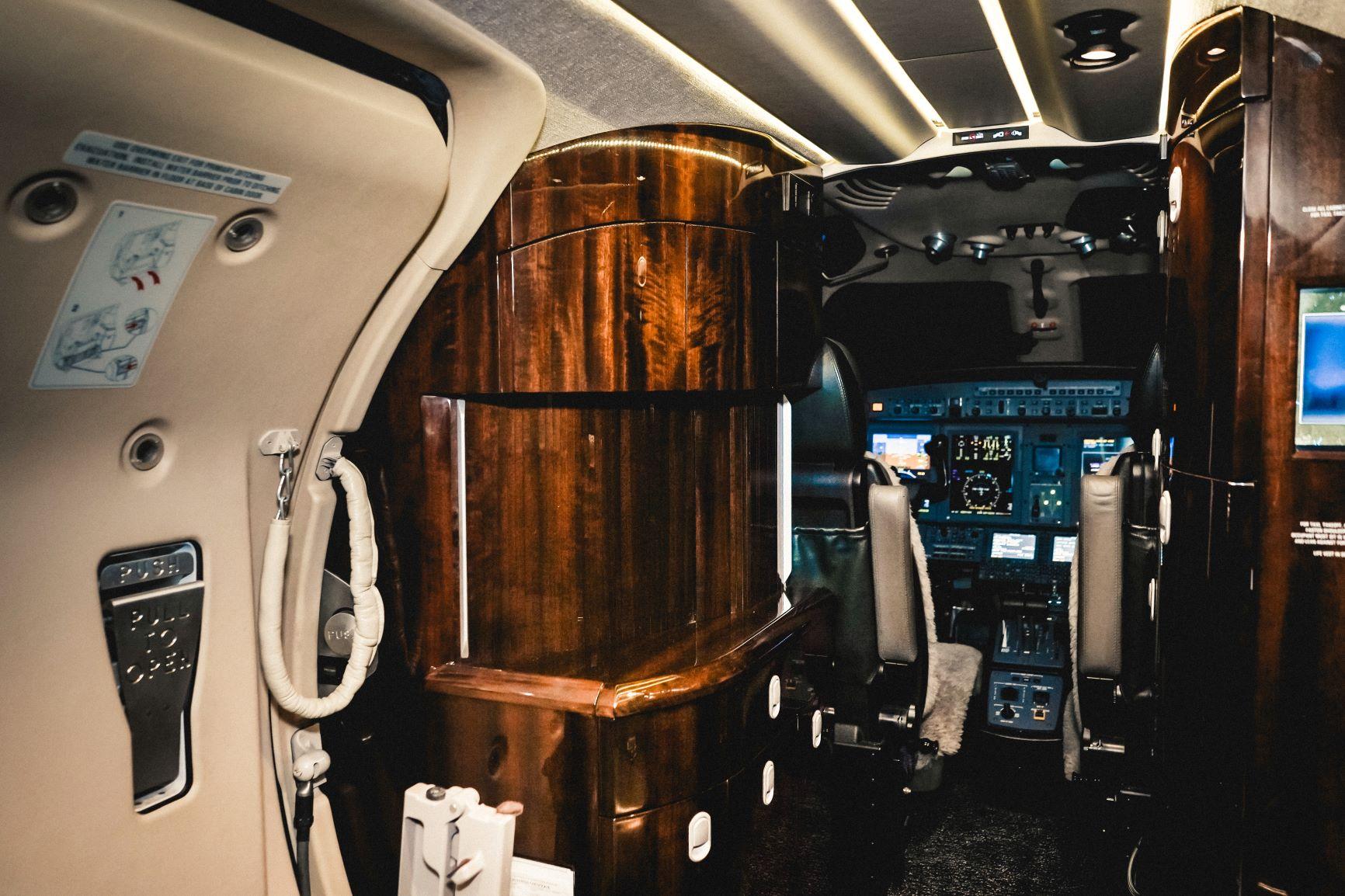 Citation CJ4 interior