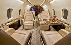 Private jet for sale charter: 2014 Bombardier Challenger 350 super-midsize jet