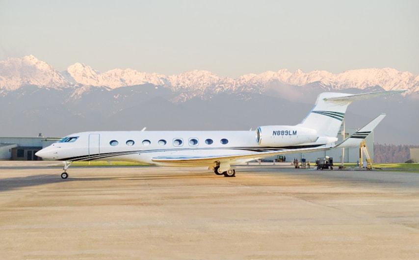 Private jet for sale charter: 2017 Gulfstream G650ER long-range heavy jet