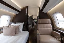 Private jet for sale charter: 2019 Bombardier Global 7500 ultra-long-range heavy jet