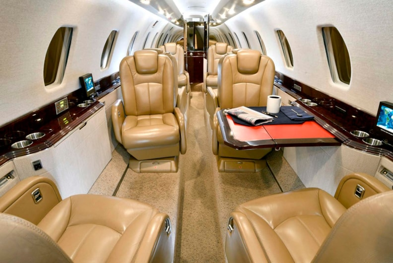 Private jet for sale charter: 2003 Citation X super-midsize jet
