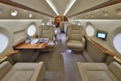 Private jet for sale charter: 2004 Gulfstream G550 long-range heavy jet
