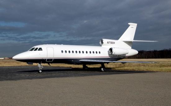 Private jet for sale charter: 2003 Dassault Falcon 900EX super-midsize jet