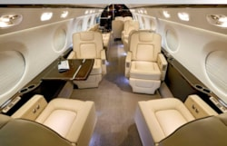 Private jet for sale charter: 2013 Gulfstream G550 long-range heavy jet