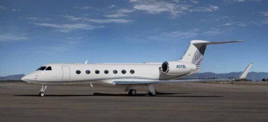 Private jet for sale charter: 2005 Gulfstream G550 long-range heavy jet