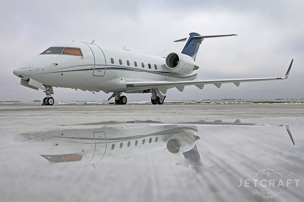 Aircraft Listing - Challenger 604 listed for sale
