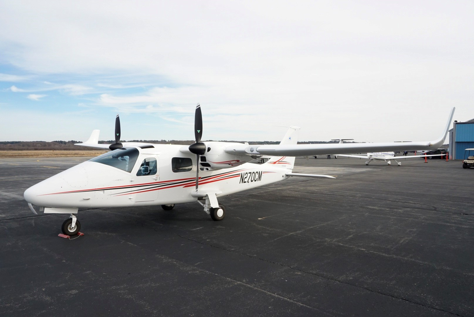 Aircraft Listing - Tecnam P2006T listed for sale