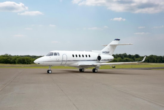 Private jet for sale charter: 2009 Hawker 850XP midsize jet