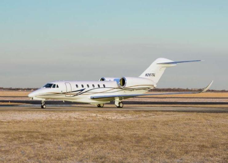 Private jet for sale charter: 2017 Citation X+ super-midsize jet