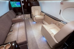 Private jet for sale charter: Gulfstream G550 long-range heavy jet