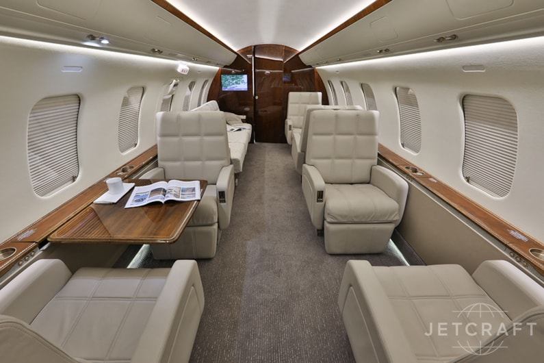 Private jet for sale charter: 2012 Challenger 605 heavy jet