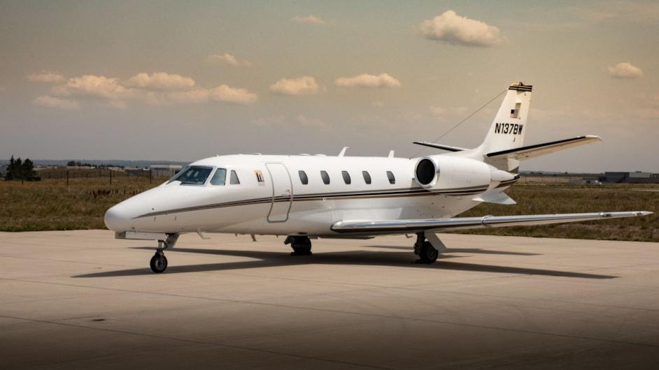 Private jet for sale charter: 2001 Citation Excel midsize jet