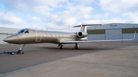 Private jet for sale charter: 2008 Gulfstream G550 long-range heavy jet