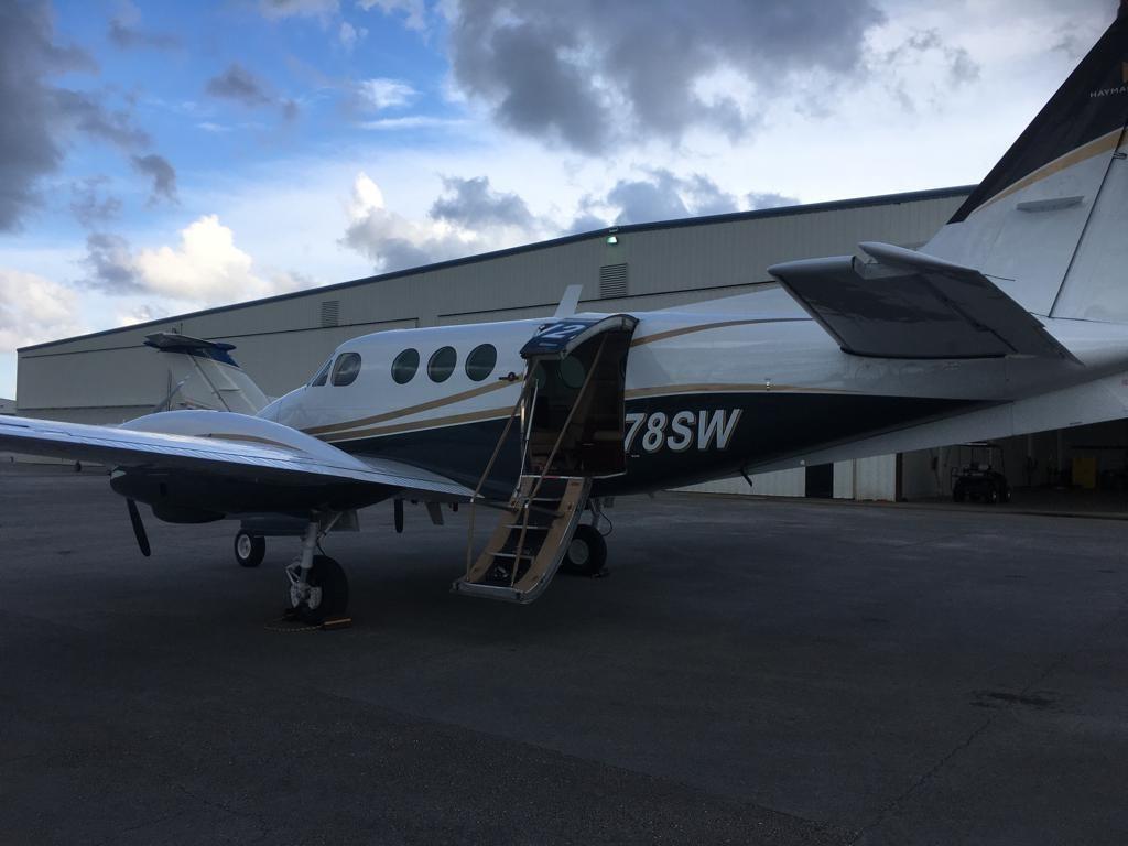 King Air C90-1 exterior
