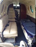 King Air C90-1 panel