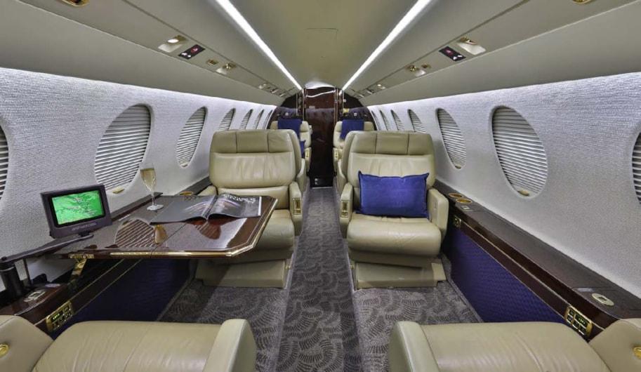 Private jet for sale charter: 2002 Falcon 50EX super-midsize jet