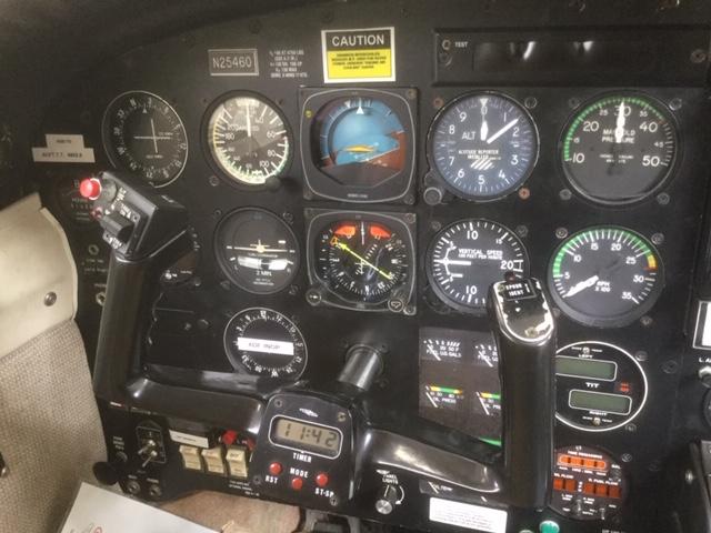 Seneca III PA-34-220T panel