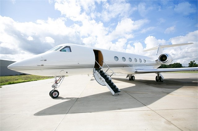 Private jet for sale charter: 1997 Gulfstream V heavy jet