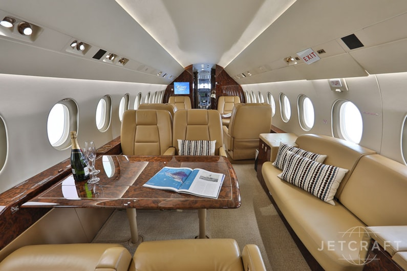 Private jet for sale charter: 2008 Falcon 2000LX heavy jet