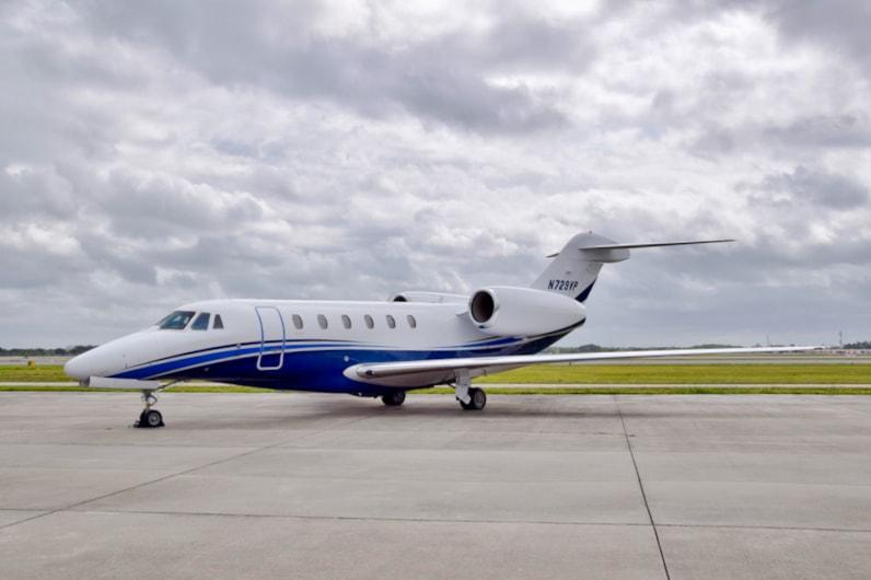 Private jet for sale charter: 1997 Cessna Citation X super-midsize jet
