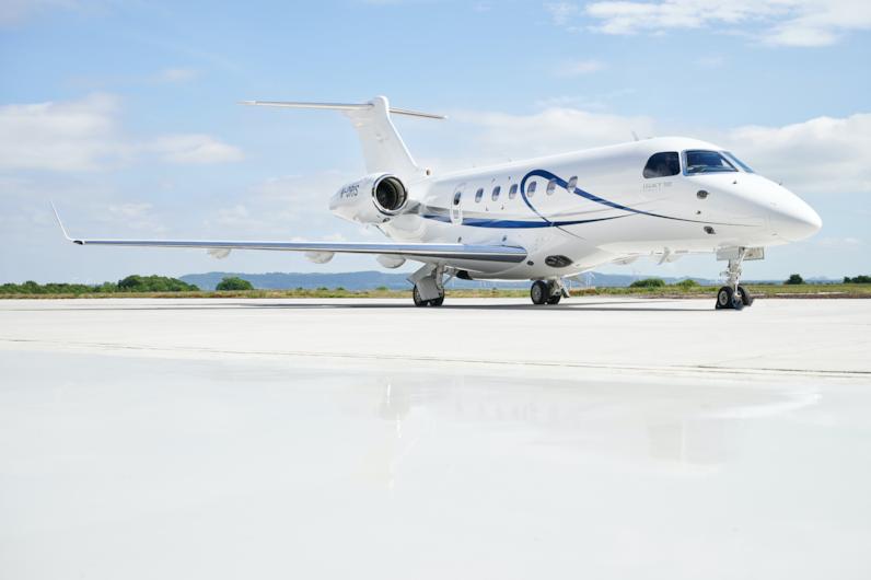 Private jet for sale charter: 2017 Embraer Legacy 500 super-midsize jet