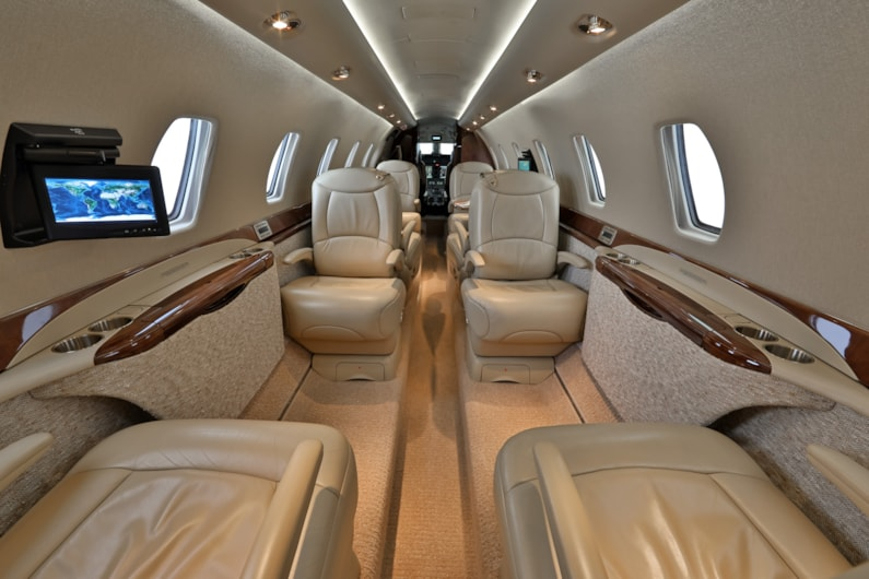 Private jet for sale charter: 2006 Citation Sovereign super-midsize jet