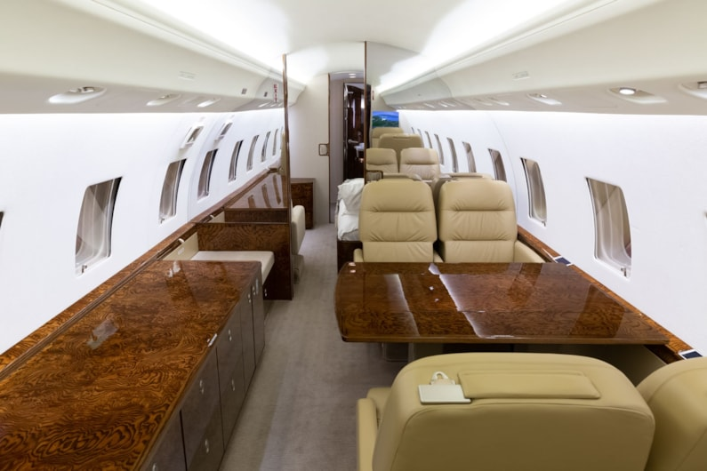 Private jet for sale charter: 2002 Global Express heavy jet