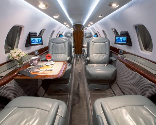 Private jet for sale charter: 2011 Cessna Citation Sovereign super-midsize jet