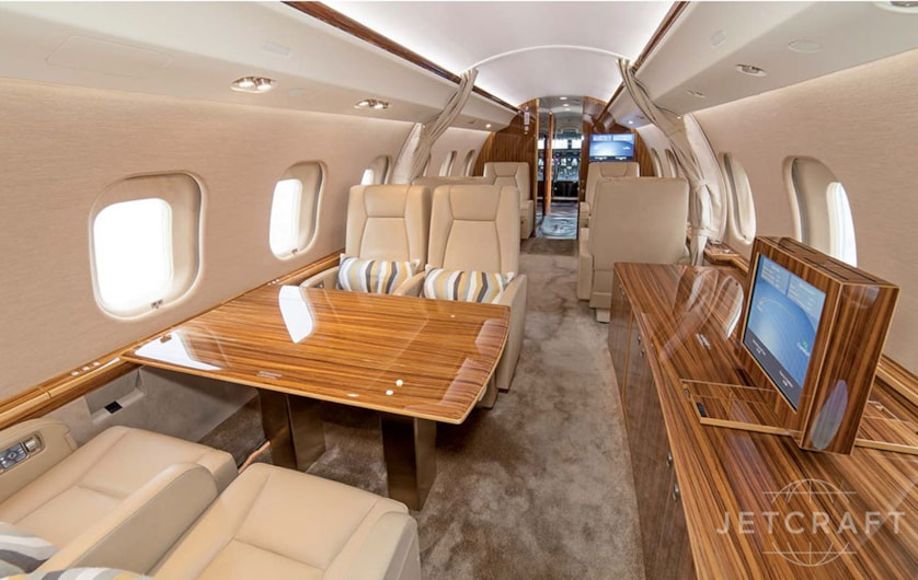 Private jet for sale charter: 2010 Global XRS long-range heavy jet