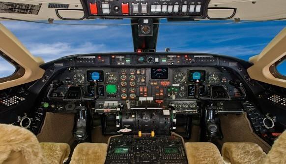 Gulfstream III panel