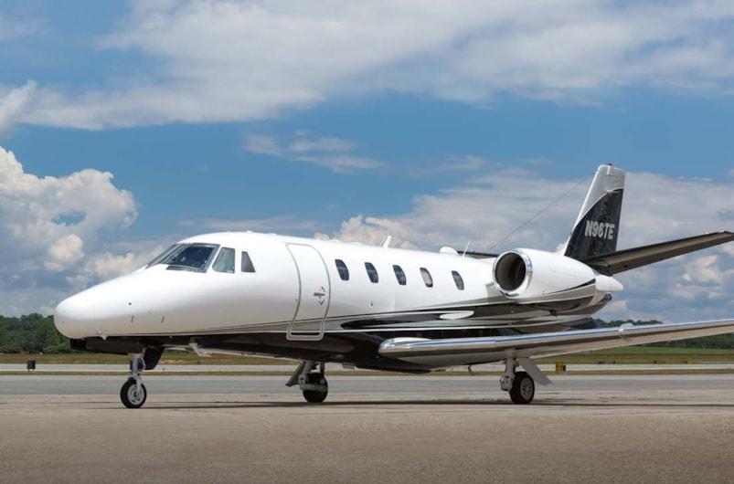 Private jet for sale charter: 1999 Cessna Citation Excel midsize jet
