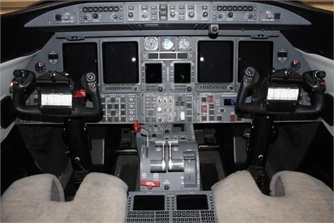 Learjet 45 XR panel