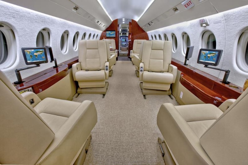 Private jet for sale charter: 2005 Dassault Falcon 2000LX heavy jet