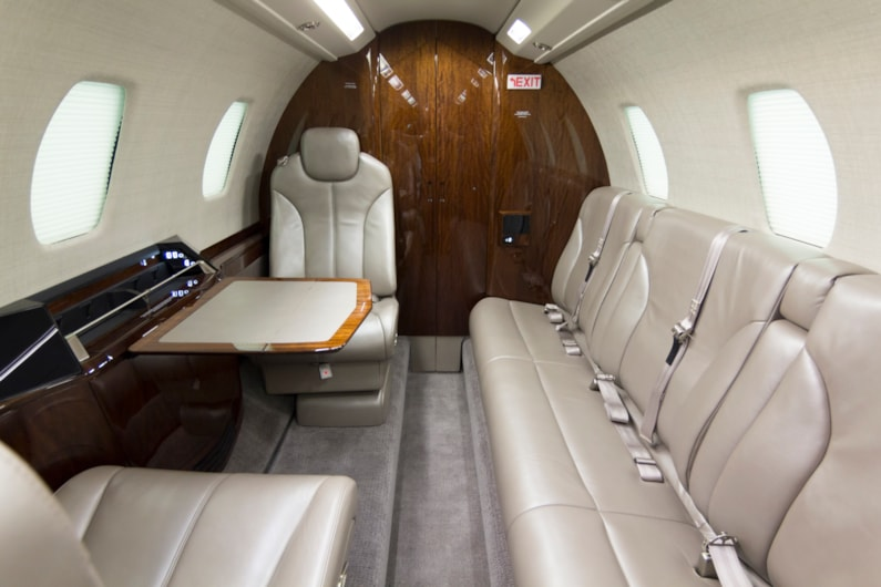 Private jet for sale charter: 2015 Citation Sovereign+ super-midsize jet