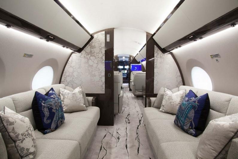 Private jet for sale charter: 2014 Gulfstream G650ER ultra-long-range heavy jet