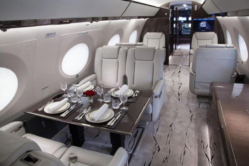 2014 Gulfstream G650ER - exterior