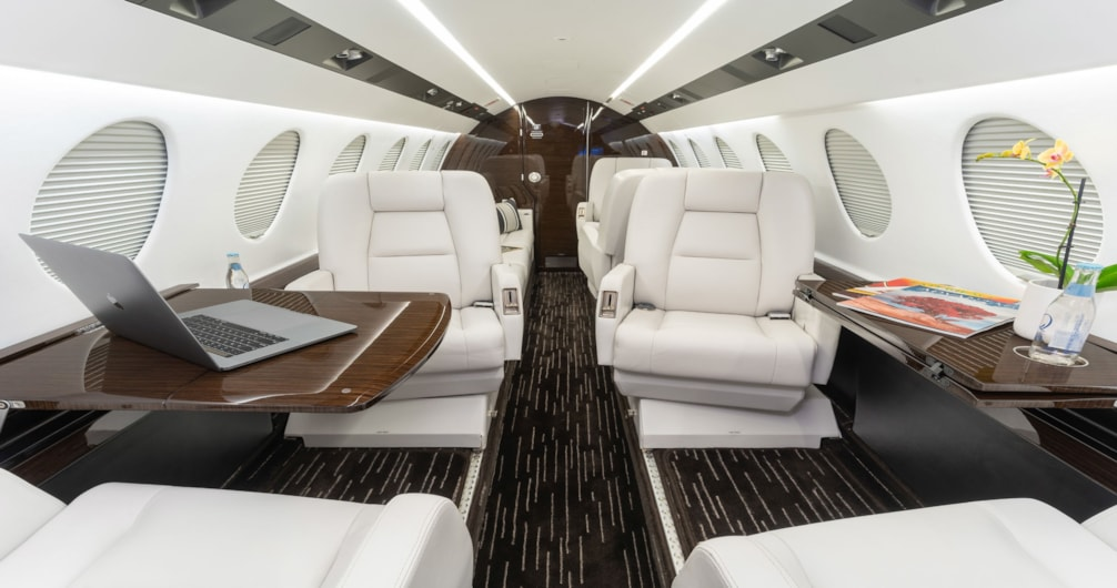 Private jet for sale charter: 2005 Dassault Falcon 50EX super-midsize jet