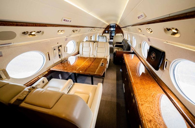 Private jet for sale charter: 2012 Gulfstream G550 long-range heavy jet