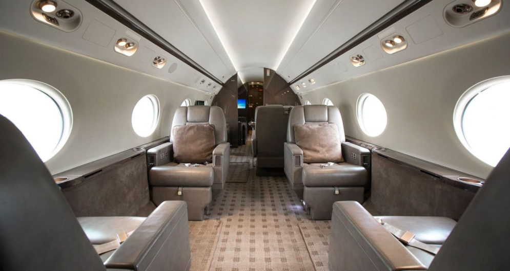 Private jet for sale charter: 2014 Gulfstream G550 heavy jet