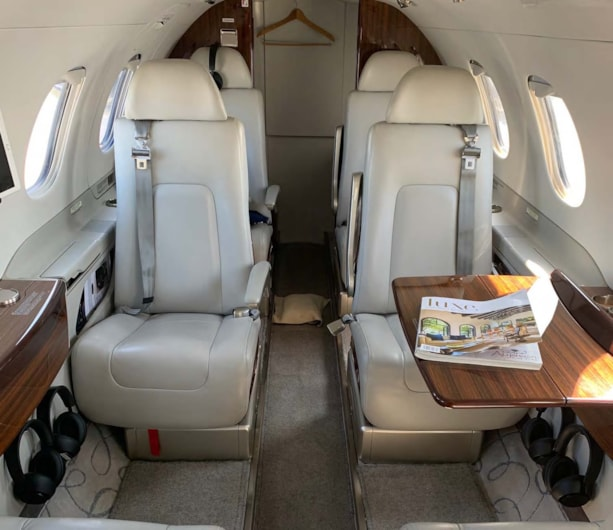 Private jet for sale charter: 2015 Embraer Phenom 300 light jet